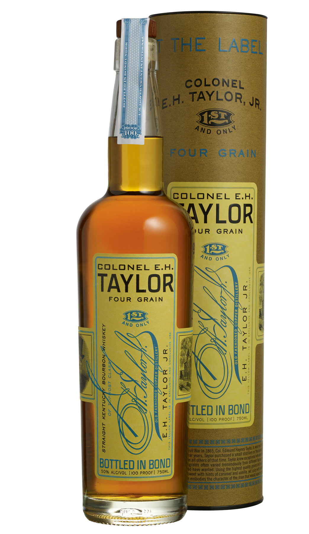 Buffalo Trace releases Eh Taylor 4 Grain.