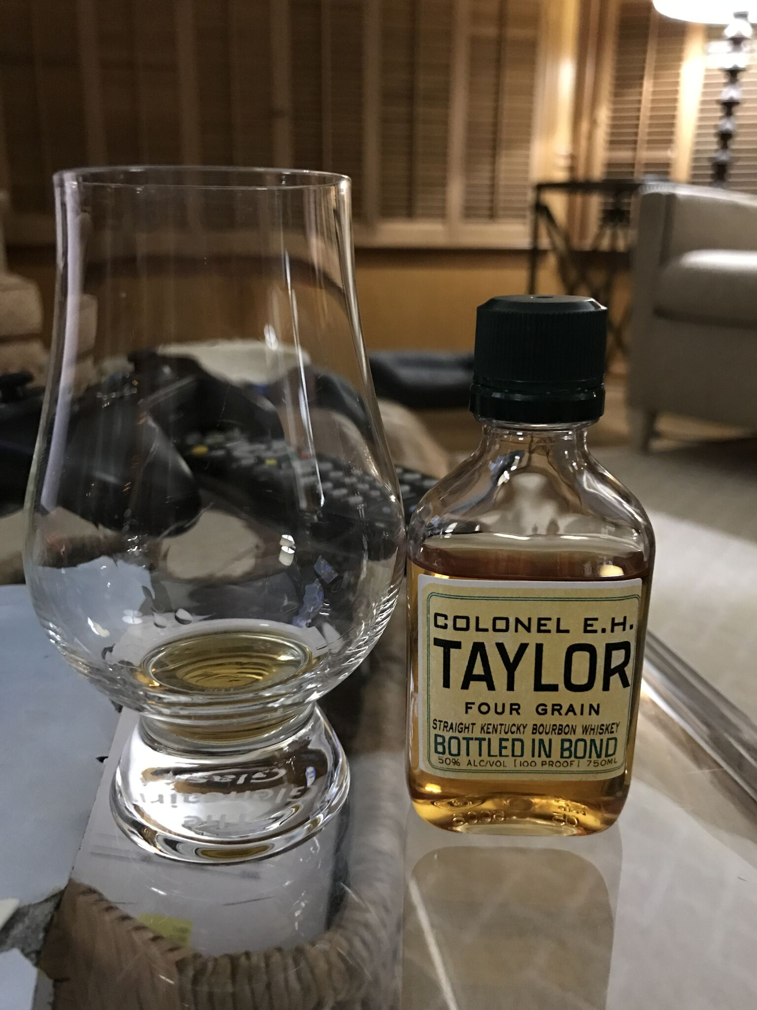 My review of EH Taylor 4 Grain from a thimble.