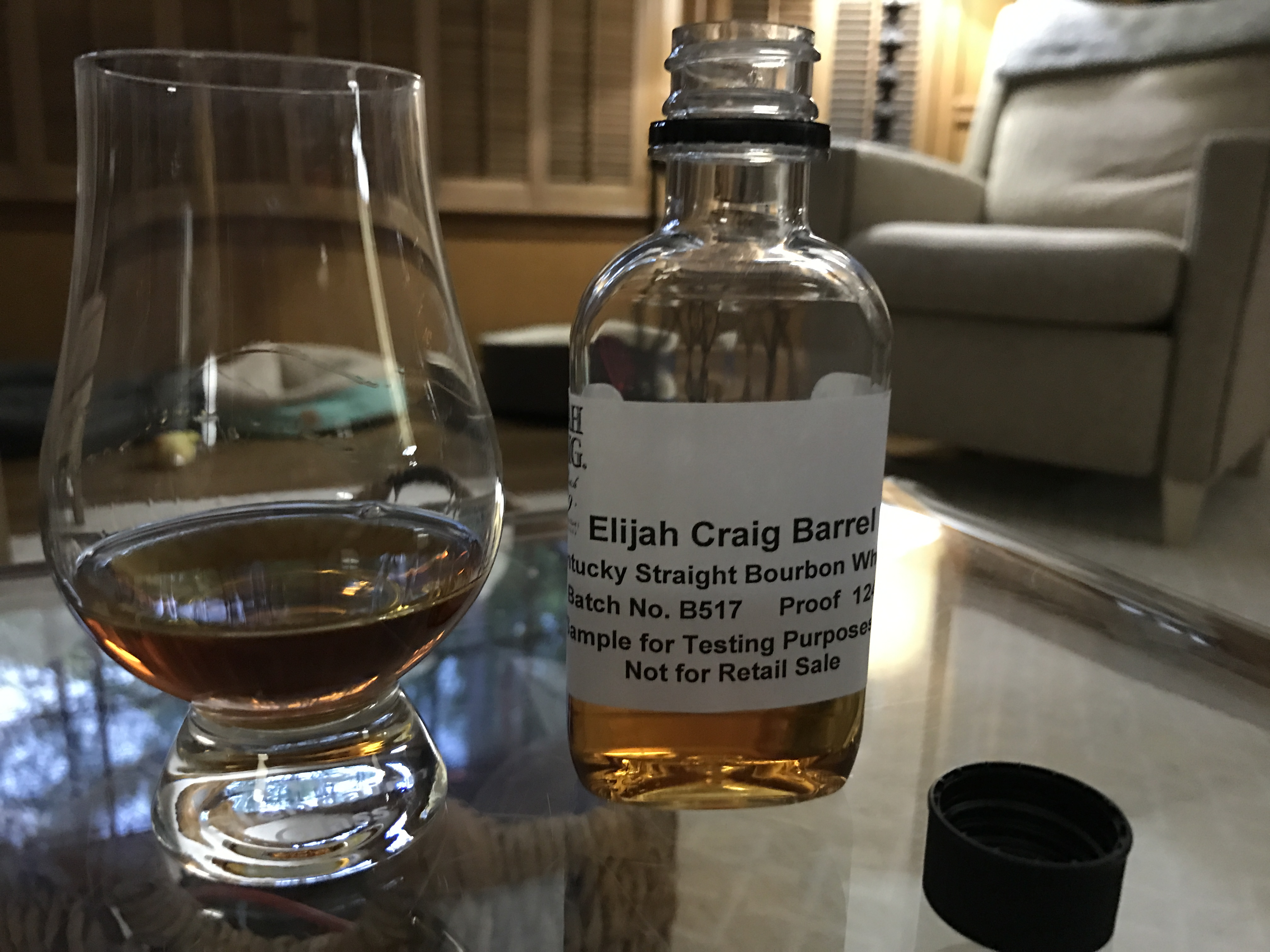 Review of the new Elijah Craig Barrel Proof,...